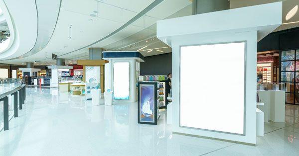 Cartelería digital en comercios y grandes superficies