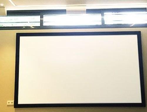 Instalación de sala de cine en casa en Madrid