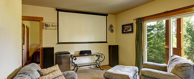 salas de home cinema