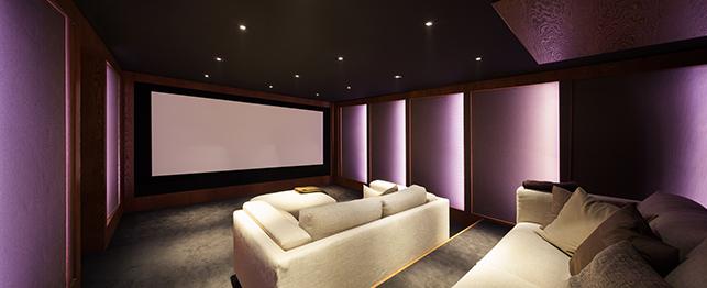 cine en casa deluxe