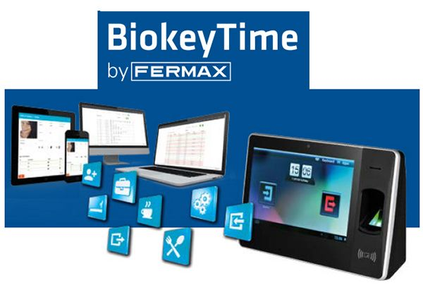 sistemas de control de accesos biokeytime