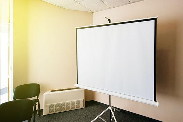 tipos de pantalla: trípode